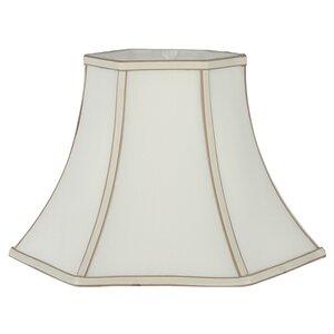 50cm Slubby Faux Silk Bell Lamp Shade