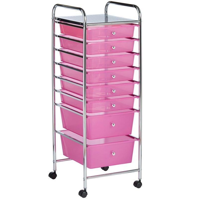 Storage Drawers On Wheels | Wayfair