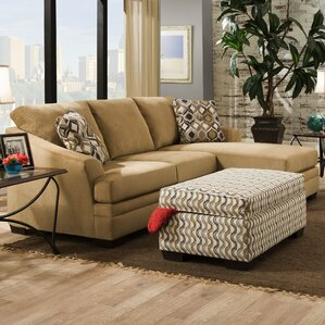 Wren Reversible Sectional by Darby Home Co