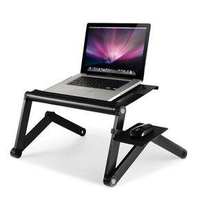 Barga Adjustable Laptop Cart  sc 1 st  Wayfair : laptop table for recliner - islam-shia.org