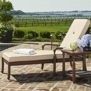 High Quality River House Chaise Lounge With Cushion