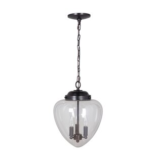 Pendant light kit wayfair hardwired 3 light schoolhouse pendant aloadofball Choice Image