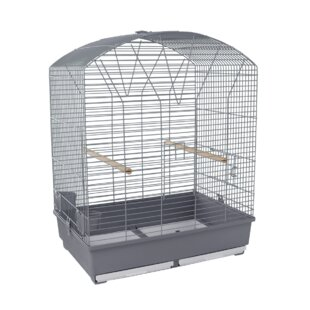 Grace Parrakeet Cage in Grey by Voltrega