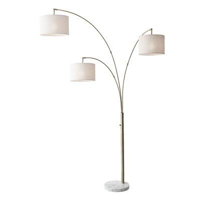 lampes sur pied finition d 39 clairage laiton antique. Black Bedroom Furniture Sets. Home Design Ideas