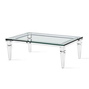 Savannah Rectangular Coffee Table by Interlude