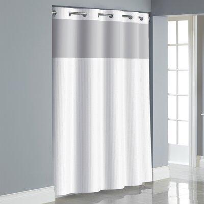 Hookless Herringbone Shower Curtain Reviews