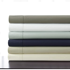 500 thread count 100 cotton percale extra deep pocket sheet set
