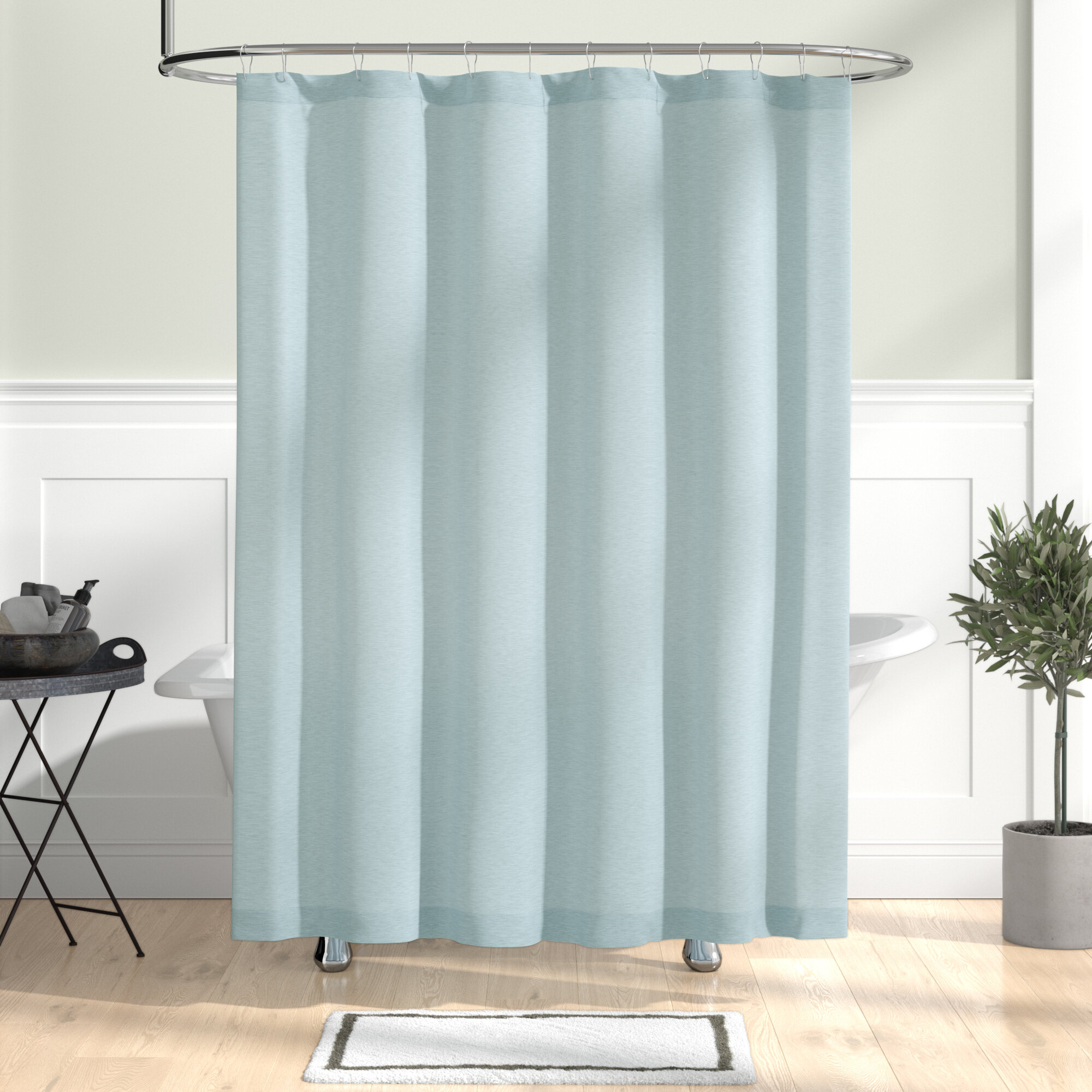 Wallingford Woods Chambray Shower Curtain Reviews