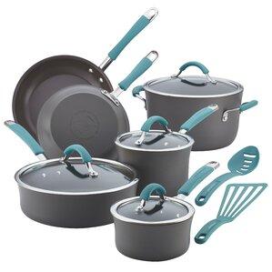 Rachael Ray 12-Piece Nonstick Cookware Set
