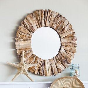 Anshul Drift Wood Accent Mirror
