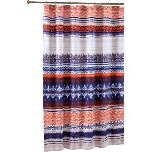 grey and orange shower curtain. Farmington Shower Curtain Orange Curtains You ll Love  Wayfair