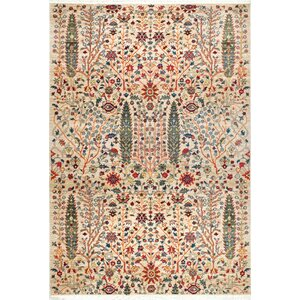 Marianna Olive/Red Area Rug