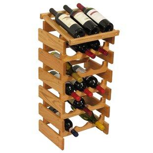 Dakota 18 Bottle Floor Wine Rack