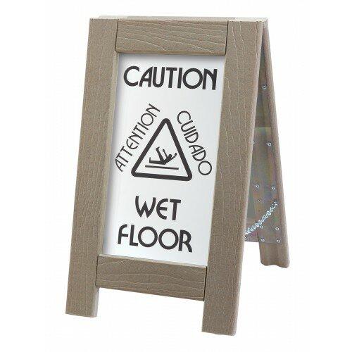 Cal-Mil Outdoor Wet Floor Sign