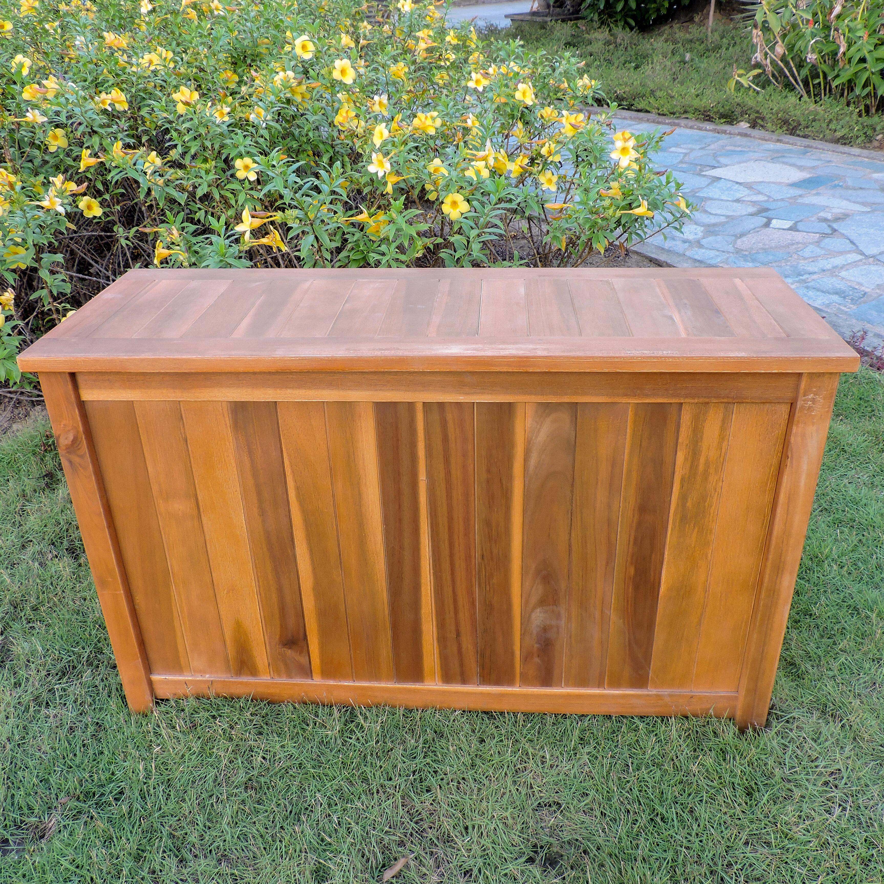 Attirant Wood Deck Boxes U0026 Patio Storage Youu0027ll Love In 2019   Wayfair