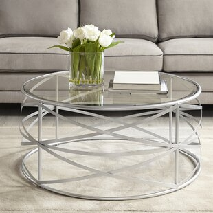 Silver Coffee Tables Youll Love Wayfair