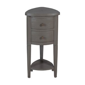 Delphine Corner End Table