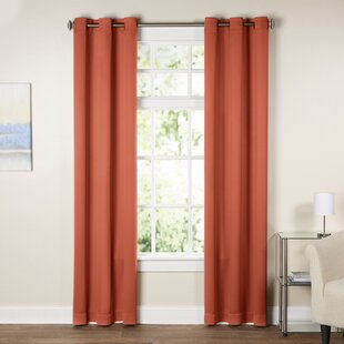 Modern Orange Curtains Drapes