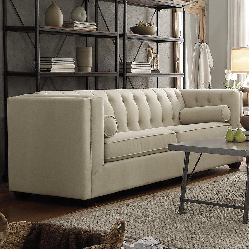 Ramses Modern Chesterfield Sofa