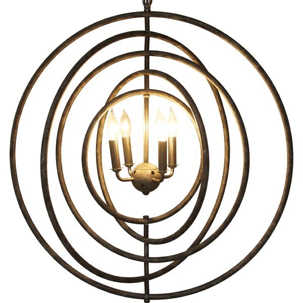 Iron Edison Light Fixture