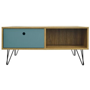 Amalia Low Coffee Table With Storage