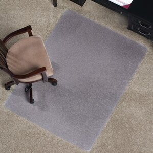 Office Chair Mat For Carpet chair mats you'll love | wayfair