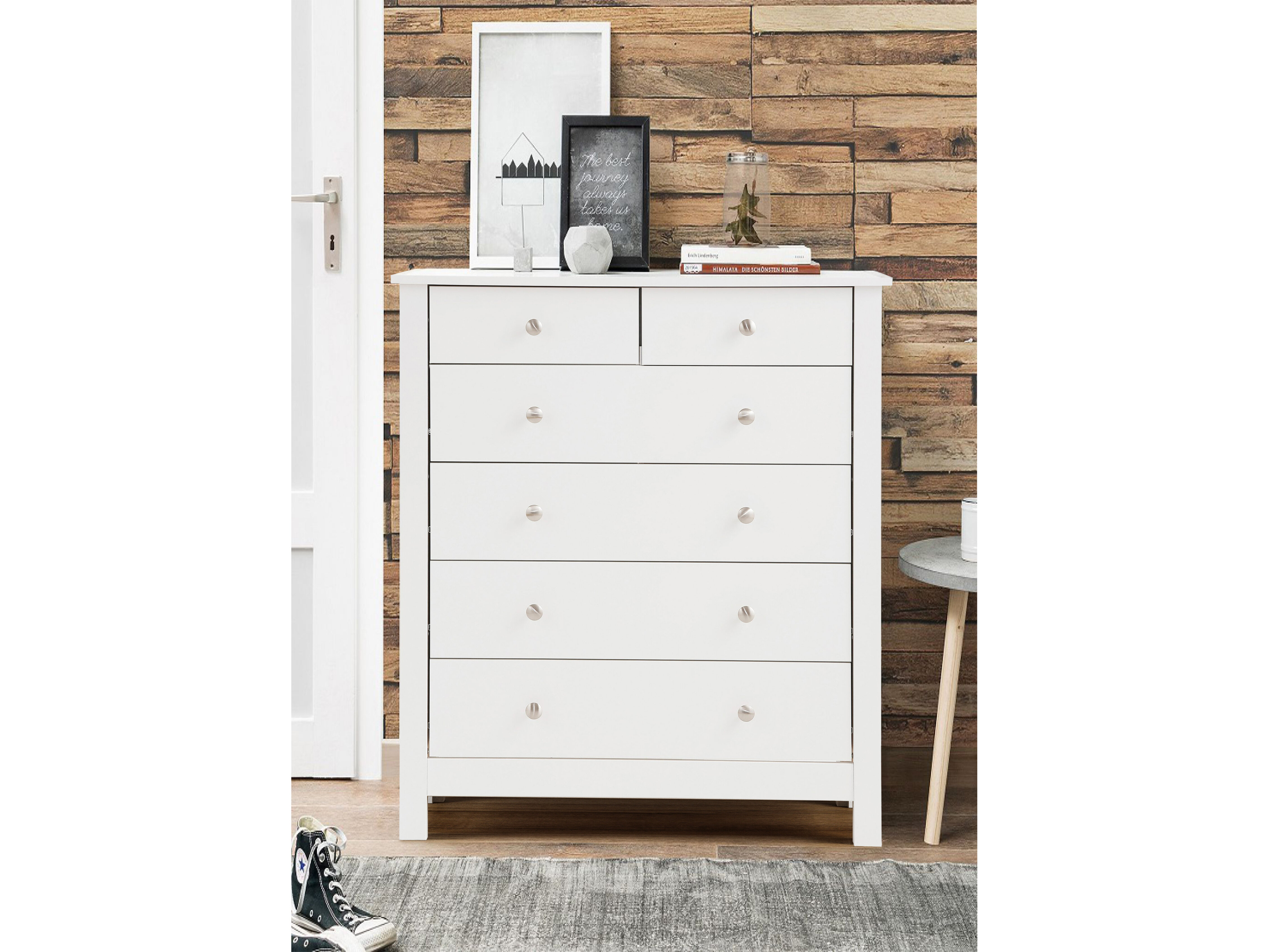 stand grey itm of night aristo drawer chest dresser black drawers dark table