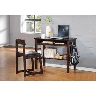 Slusher Writing Desk And Chair Set