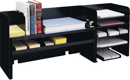 Mmf Industries Desk Organizer W Dividers 47 1 4 Quot X9 1 2