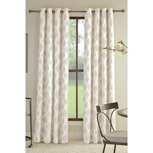 Buy Anaheim Geometric Grommet Single Curtain Panel!