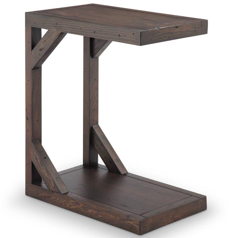 Charmant Sharleen C Shaped End Table