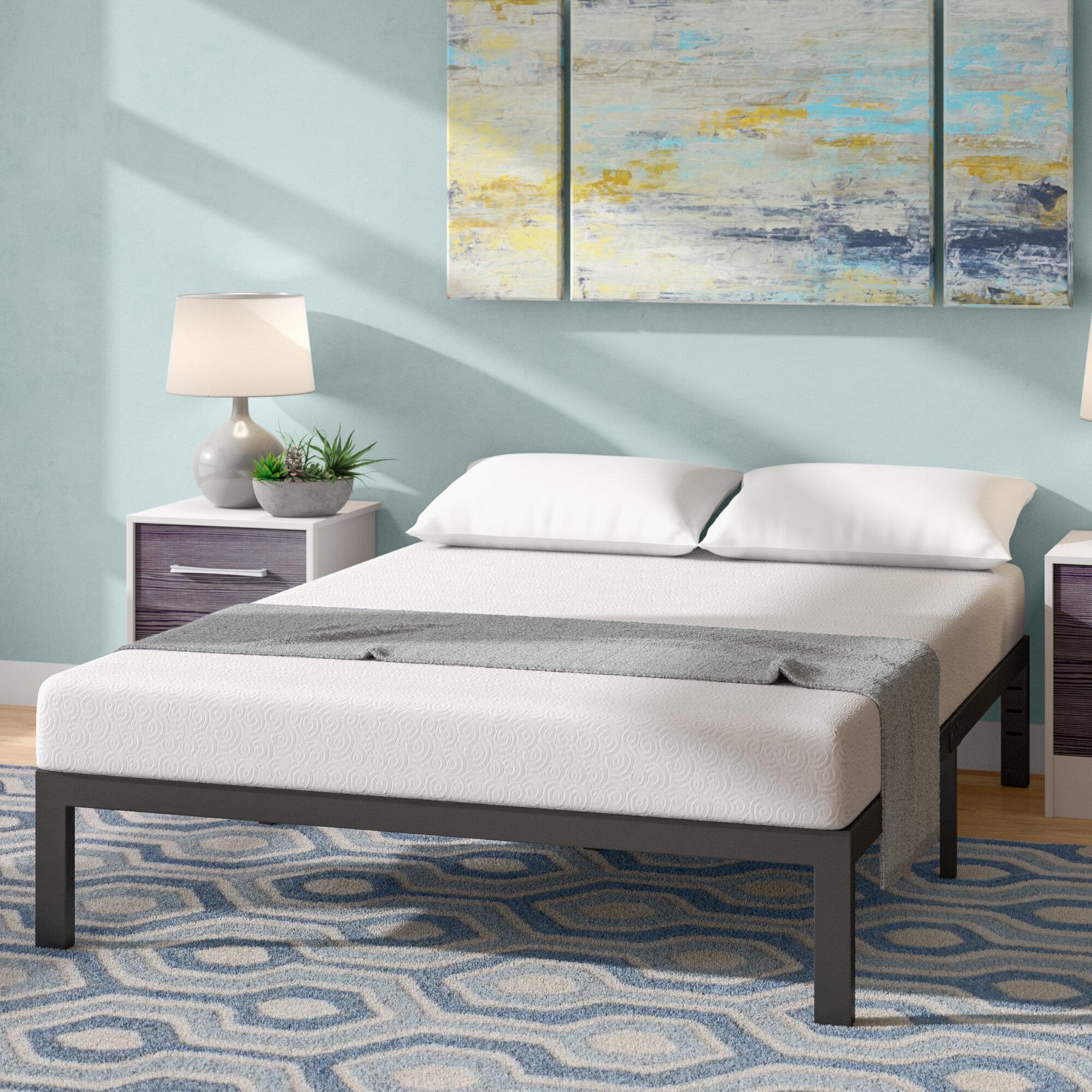 alwyn home 7 medium gel memory foam mattress reviews wayfair