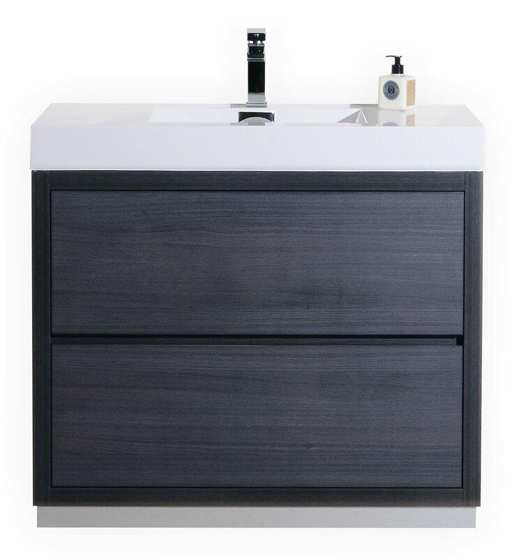 Tenafly 40 Single Free Standing Modern Bathroom Vanity Set