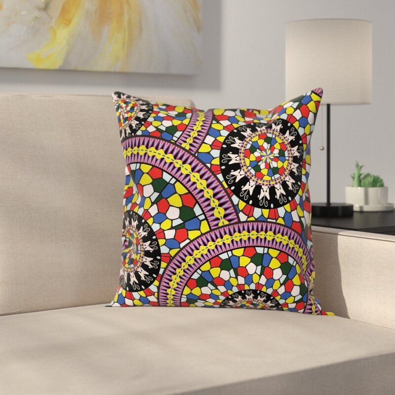 16 Square Pillow Cover With Zipper