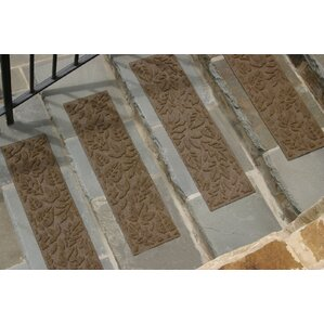 Conway Dark Brown Fall Day Stair Tread (Set Of 4)
