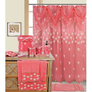 Decorative Single Shower Curtain