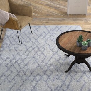 Compare & Buy Drinnon White/Light Gray Area Rug By Williston Forge