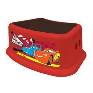 Disney Cars Step Stool by Ginsey
