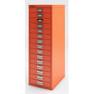 Superieur Retail 15 Drawer Filing Cabinet By Bisley Direct