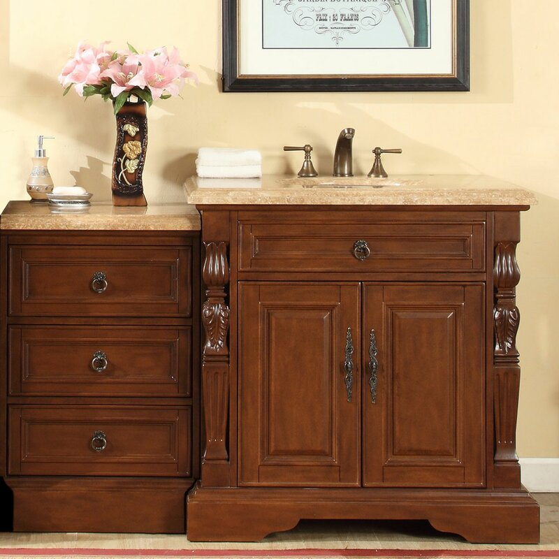 56 Single Bathroom Vanity Set