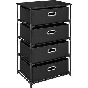 4 Drawer Wicker Storage Units | Wayfair