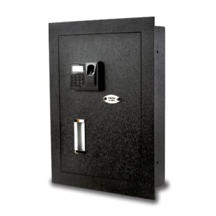 Viking Security Safe Biometric Lock Hidden Wall