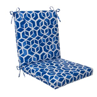 bf5fcf9df76 Indoor Outdoor Dining Chair Cushion. by Rosecliff Heights