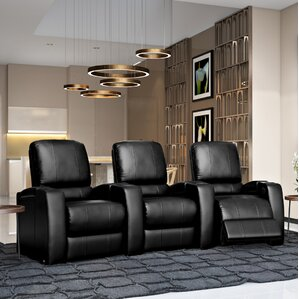 Octane Seating Storm XL850 Home Theater Lounger (Row of 3) Image