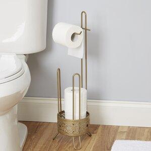 filigree toilet paper holder