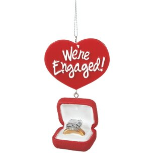 engagement ring box ornament by the holiday aisle - Christmas Ornament Ring Box