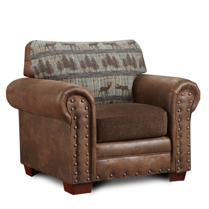 Phenomenal Ozzie Deer Armchair Short Links Chair Design For Home Short Linksinfo