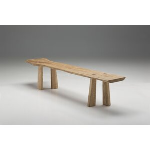 Esparza Wood Bench by Union Rustic