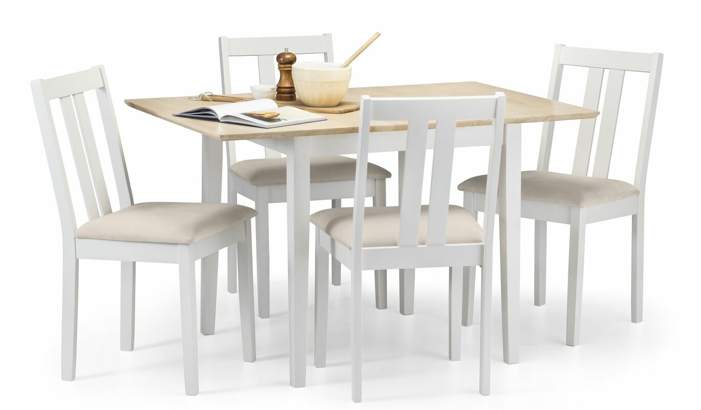 haus am meer essgruppe aspinwall mit ausziehbarem tisch und 4 st hlen bewertungen. Black Bedroom Furniture Sets. Home Design Ideas