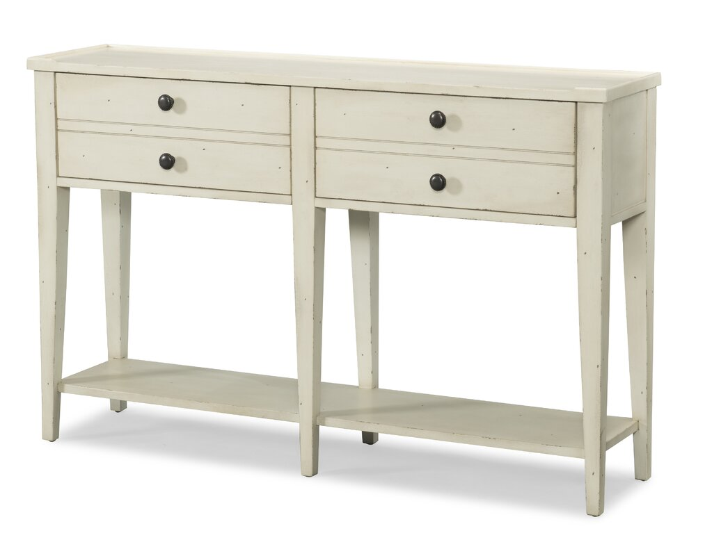 Trisha yearwood home collection lizzie 2 drawer console table lizzie 2 drawer console table geotapseo Images